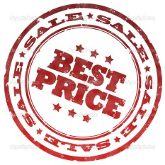 Best price red stamp
